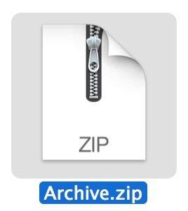 zip archive icon